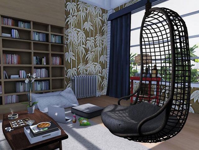подвесные плетеные кресла к потолку