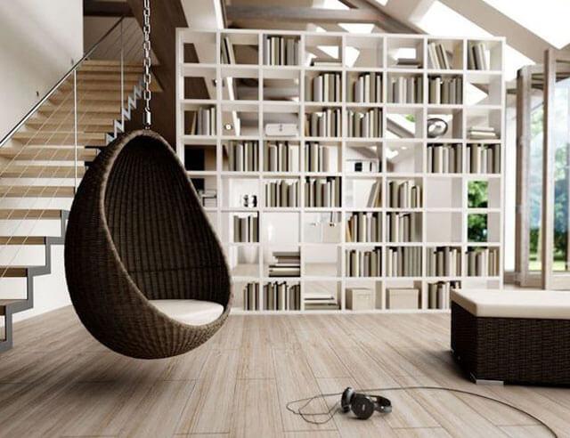 как подвесить кресло к потолку