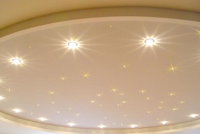 люстра на навесной потолок