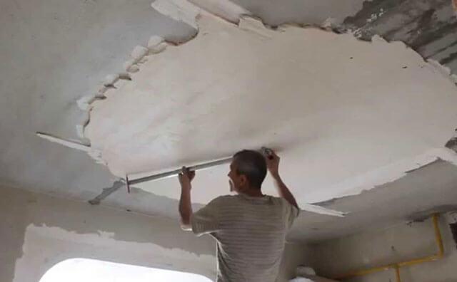 как вытянуть потолок
