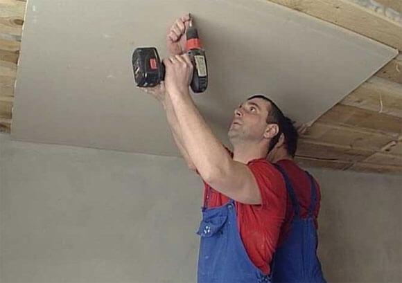 подготовка потолка под гипсокартон