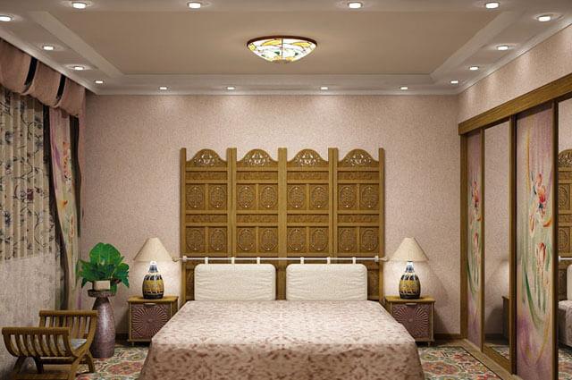 какой потолок сделать в спальне