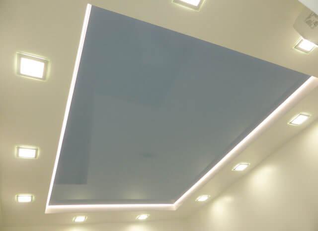 какие потолки существуют