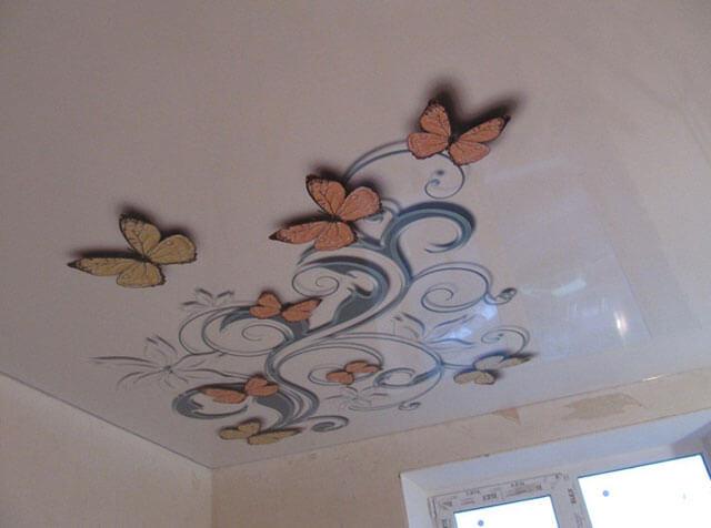 3D изображения на потолке