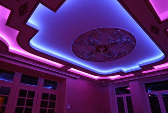 как выбрать светодиодную ленту для потолка