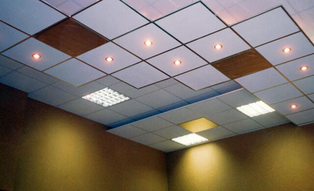 подвесные потолки Армстронг расчет комплектующих