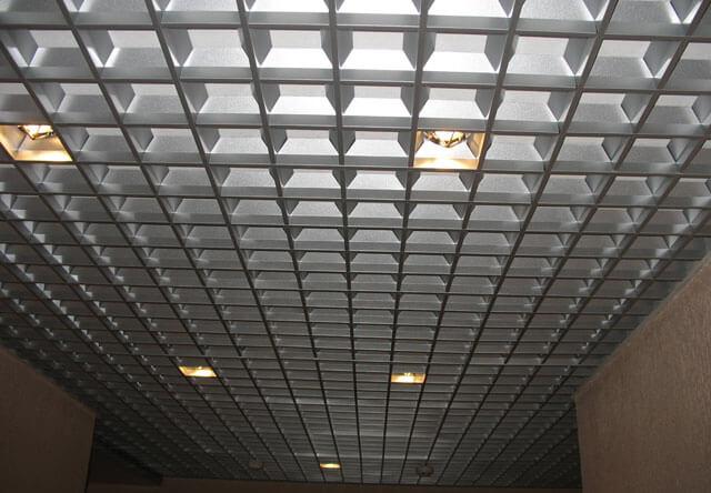 растровые потолки