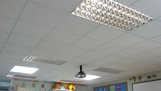 подвесной потолок виды