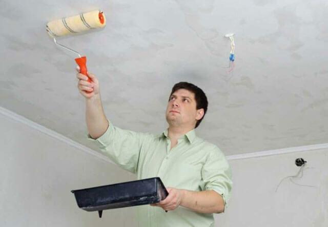 грунтовка для потолка под покраску водоэмульсионной краской