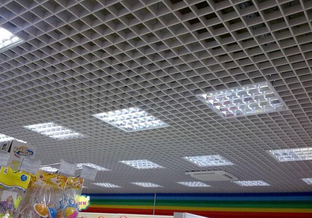 подвесной потолок растровый