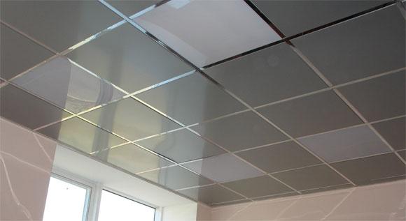 металлический подвесной потолок достоинства