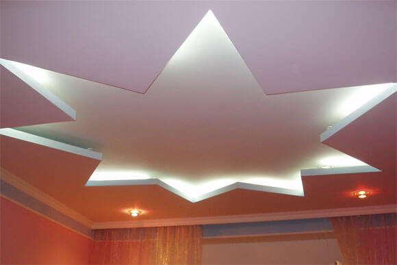 потолки из гипрока сделать