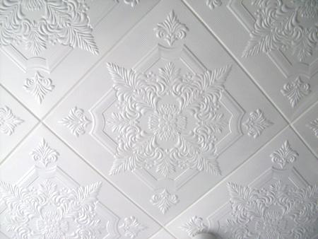 Фрагмент потолочной плитки