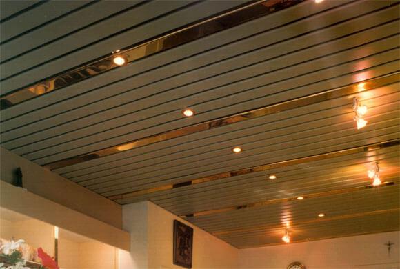направляющие для реечного потолка