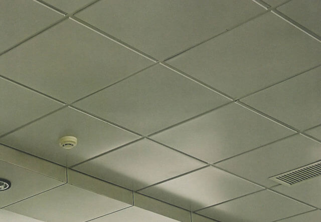 потолки кассетные