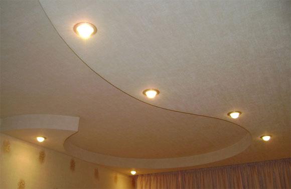 из чего делают навесные потолки