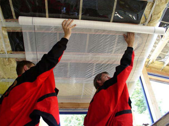 деревянный потолок своими руками устройство