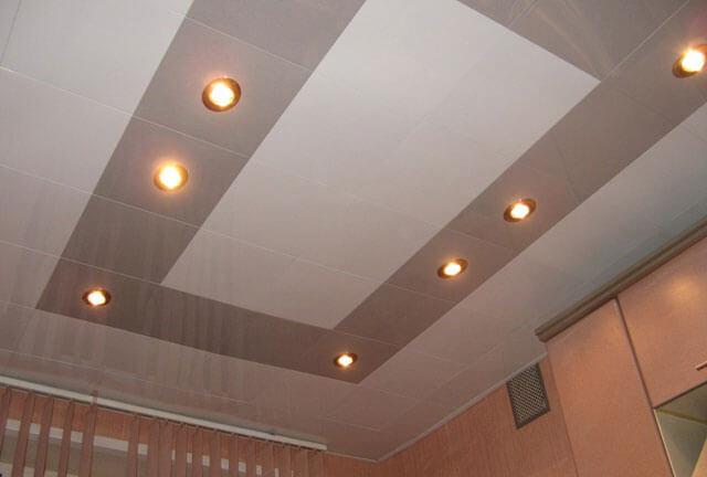 материалы для подвесного потолка