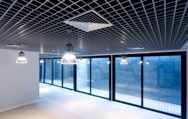 подвесные потолки решетка