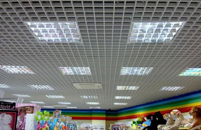 навесные потолки Грильято