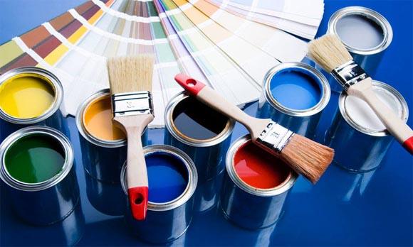 как своми руками покрасить плитку на потолке