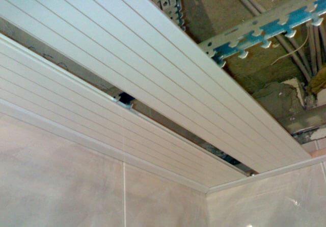 что такое реечные потолки