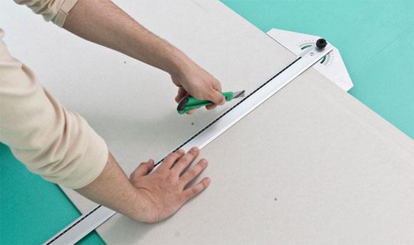 укладка гипсокартона на потолок своими руками