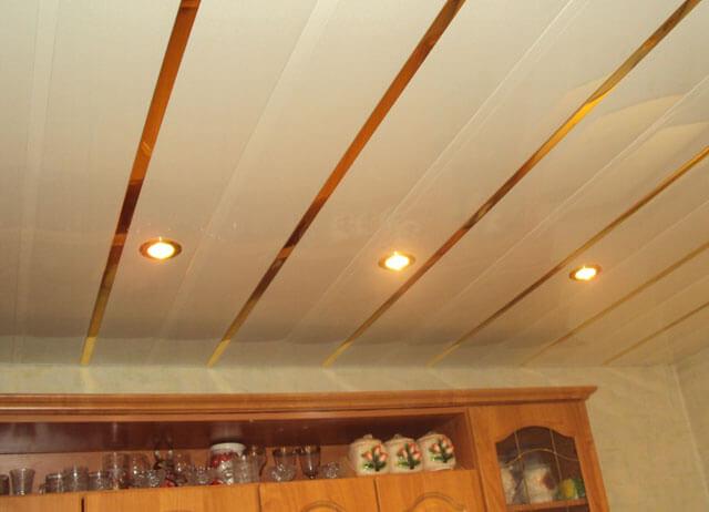 наборные потолки для кухни