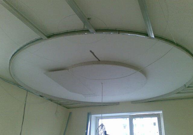 как сделать гипсокартонные потолки