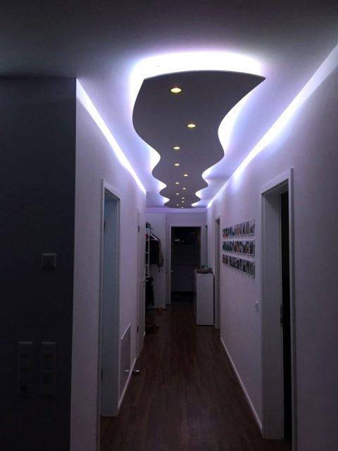 Дизайн с подсветкой