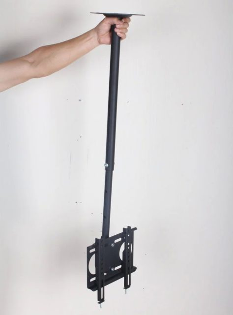 Потолочный кронштейн для ТВ с регулируемой высотой