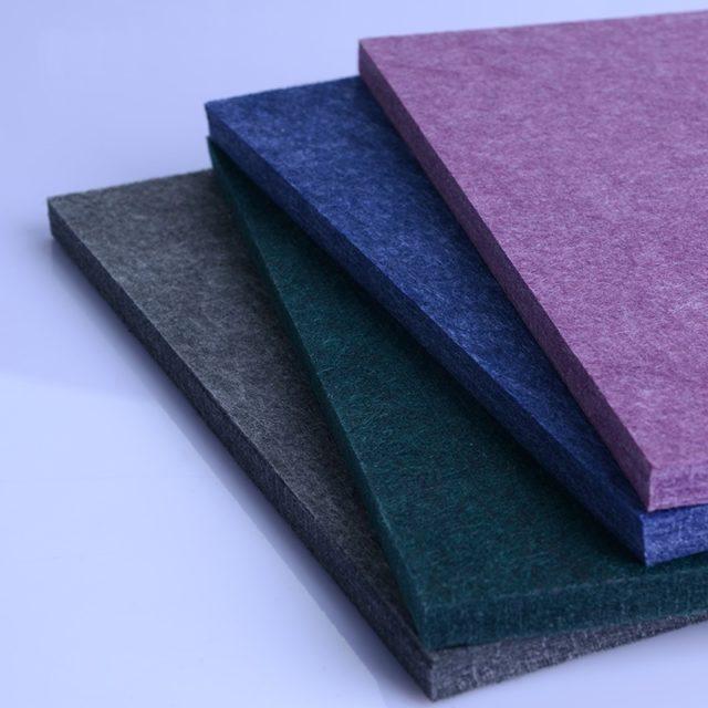 Плиты из полиэфирного волокна