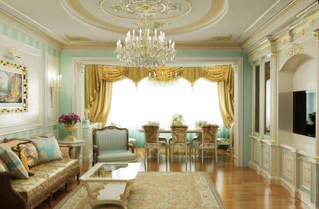 Позолота в дворцовом стиле