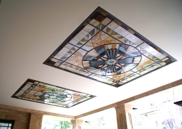 Пример потолка