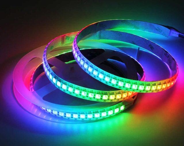 RGB-лента цветная