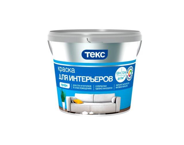 Текс Профи краска вододисперсионная