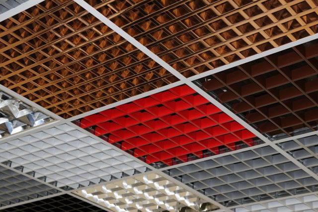 ячеистый подвесной потолок