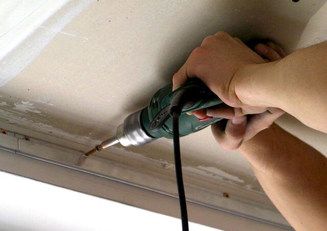 монтаж тканевых натяжных потолков инструкция