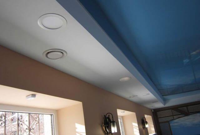 вентиляционные решетки на натяжной потолок