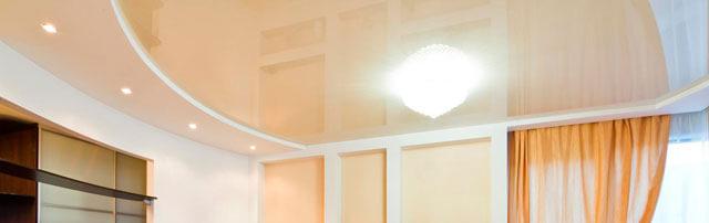 из какого материала делают натяжной потолок
