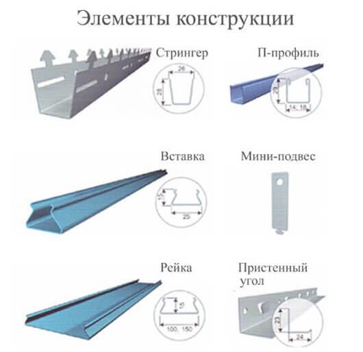 реечный потолок инструкция