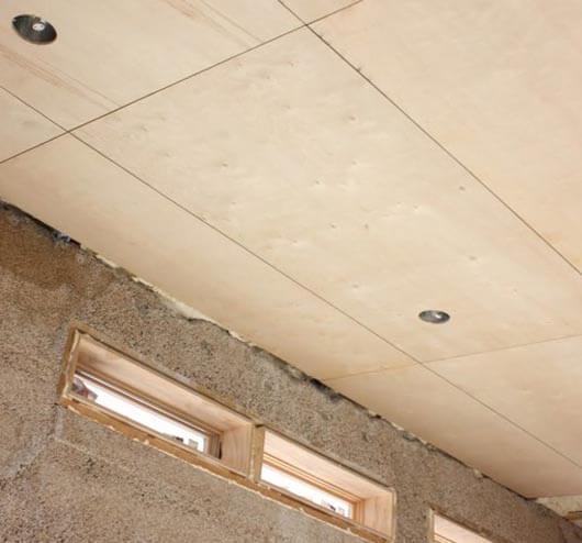 как обшить потолок двп своими руками
