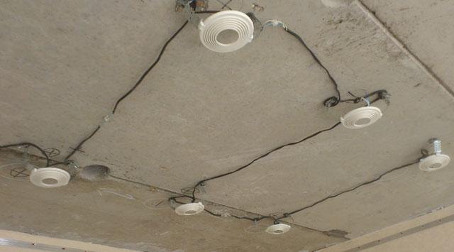 двухуровневый потолок с подсветкой своими руками