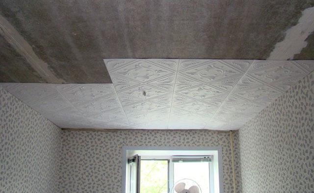 какие бывают подвесные потолки