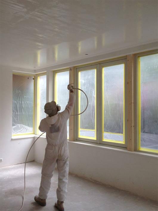 краскопульт для побелки потолка
