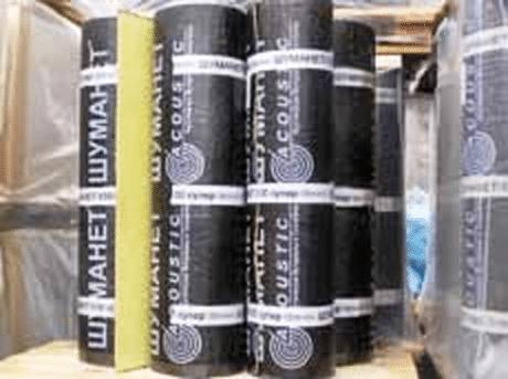 материал для шумоизоляции потолков