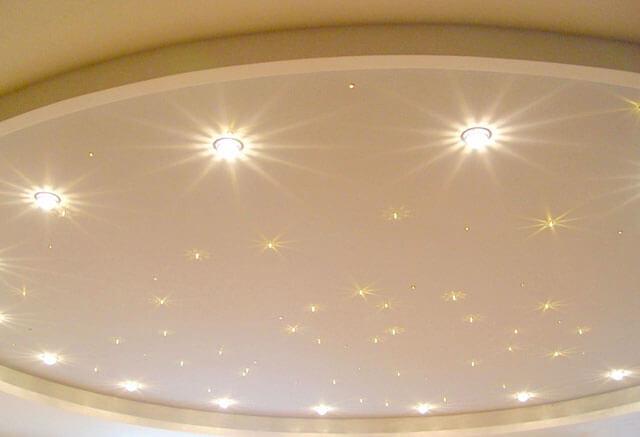 наружные светильники для натяжных потолков