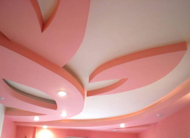 узоры на потолке из пенопласта