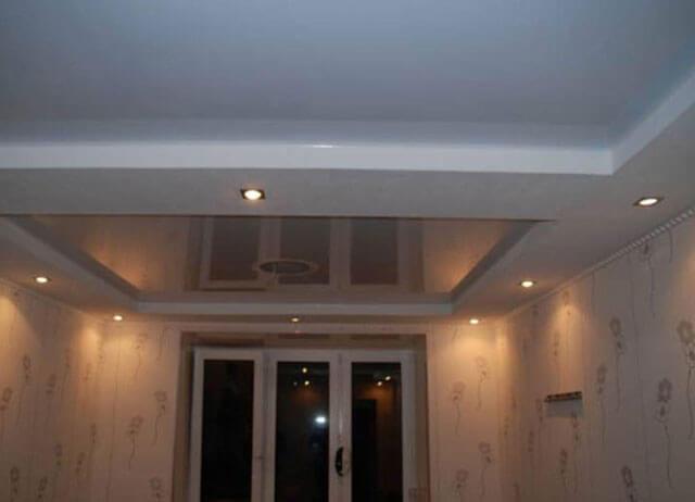ремонт потолка в хрущевке