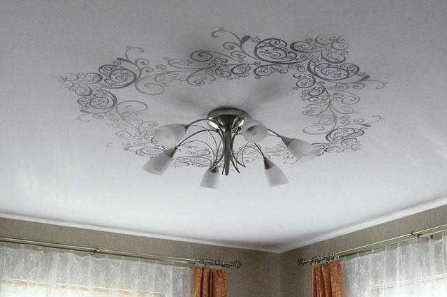 максимальная ширина полотна натяжного потолка